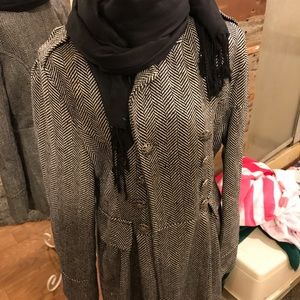 3 pieces jacket and sweater and scarf